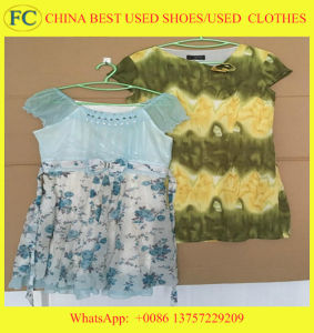 First Class Wholesale Used Clothing, Used Clothes in Bales From China, Hot Sell Second Hand Clothes (FCD-002) pictures & photos