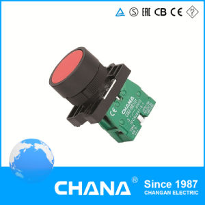 22mm Plastic Type Flush Button Spring Return Switch pictures & photos