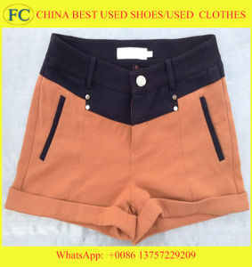 Grade AAA Summer Used Clothes in Bales (FCD-002) pictures & photos