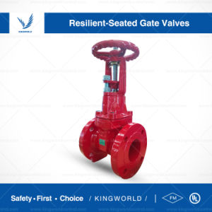 FM UL Ductile Iron Flang Grooved Gate Valve pictures & photos