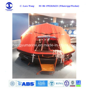 Marine Ship Water-Proof Rubber Life Raft with 4~150p Capacity pictures & photos