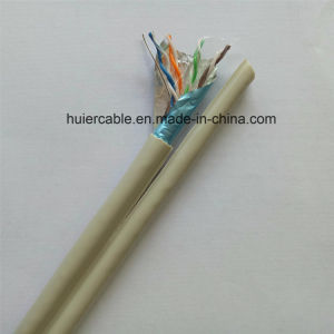 High Quality Ethernet Dual FTP Cat5e Cable, Shielded pictures & photos