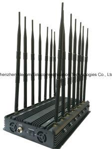Car Anti-Tracking GPS Blocker, Navigation Jammer, Mobile Signal Jammer; 14 Antennas Jammer; Jamming for Lojack, 433, 315, GPS, Cellular Jammer System pictures & photos