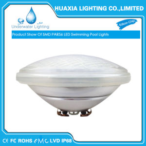 IP68 SMD2835 Warm White 2700-3000K PAR56 LED Underwater swimming Pool Light pictures & photos
