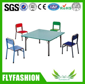 Classroom Furniture Children Solid Wood Table with Chairs Sf-23c pictures & photos