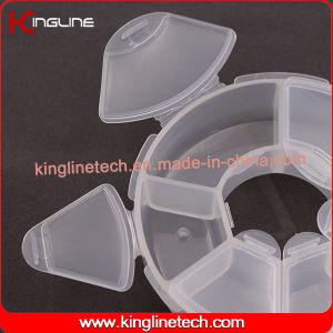 Plastic 6-Cases Pill Box (KL-9098) pictures & photos