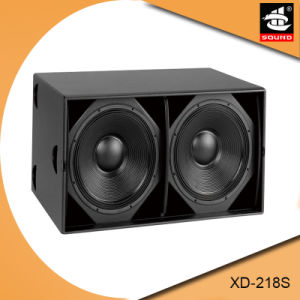 Xd-218s 6400W Big Power Subwoofer Bass Speaker pictures & photos