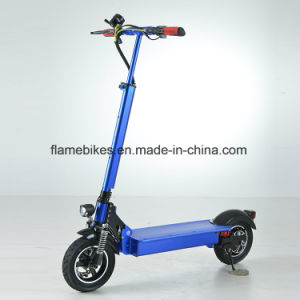 60V/20ah 600W Folding Electric Scooter with F/R Supension pictures & photos
