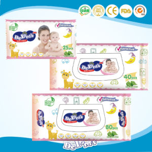 Baby Use 80PCS Best Quality Baby Wipes China Factory pictures & photos