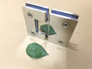 Stainless Steel, Brass 90, 180, 135 Bathroom Glass Clamp Shower Door Hinge pictures & photos