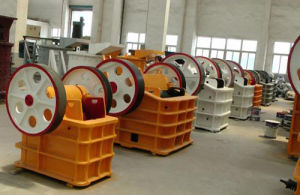Large Capacity Jaw Crusher with Single Cylinder for Gypsum Mineral pictures & photos