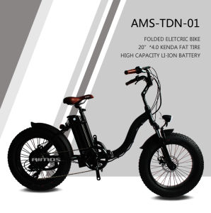 """20"""" Folded Fat Tyre Snow Mountain Electric Bike for Sale pictures & photos"""
