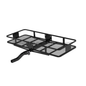 """Foldable Hitch Cargo Carrier Mounted Basket Luggage Rack with 2"""" Receiver pictures & photos"""