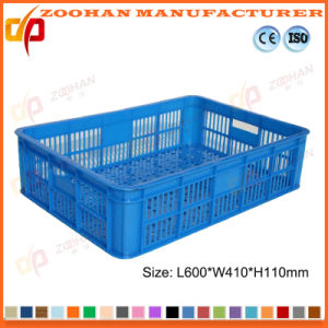 Ventilated Plastic Vegetable Baket Fruit Containers Food Display Box (Zhtb6) pictures & photos