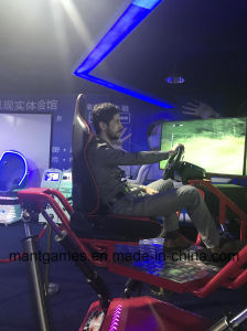 Electronic Systern Racing Car Simulator 128 Different Scenes 3 Screens Car Simulator pictures & photos