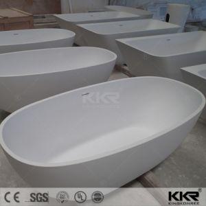 Luxury Stone Resin Bathroom Furniture Freestanding Bathtub pictures & photos