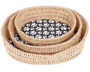 (BC-PK1006) High Quality Handmade Willow Pet Kennel pictures & photos