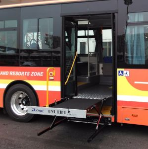 Ce Certified Electrical & Hydraulic Wheelchair Lift for Bus Model Uvl-700-S pictures & photos