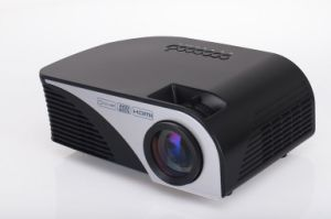 Yi-805b Mini Portable Projector 50W HD 1080P LED Micro Projector with HDMI / USB/ VGA / AV pictures & photos