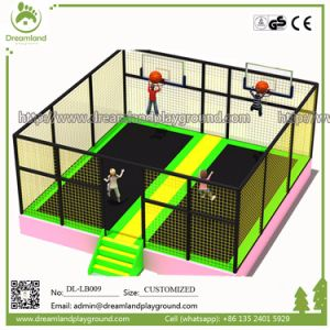 Safety Guarantee Indoor Trampoline Park Foam Blocks Gymnastics Trampoline pictures & photos