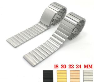 Quality Solid Stainless Steel 1 Bead Watchband for Samsung Gear S2 Smart Watch Strap for Mens Watch Band Moto 360 Female Models pictures & photos