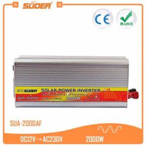 Suoer 12V 220V 2000W DC AC Solar Power Inverter (SUA-2000AF) pictures & photos