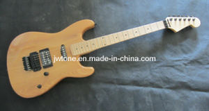 Ash Wood Body Natural Finishing Hot Selling Electric Guitar pictures & photos