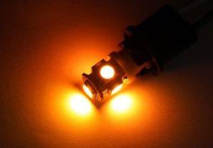 LED Car Lamp T10-5SMD-5050-Y
