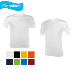 Transfer Printing White Sublimated T Shirts pictures & photos