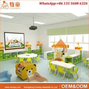Preschool Childrens Storage Units furniture with Baskets (WKF-153D) pictures & photos