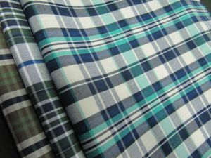 100% Cotton Yarn Dyed Poplin Check for Shirt pictures & photos