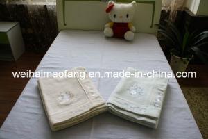 Pure Plain Color Cotton Blanket (NMQ-CB-006) pictures & photos