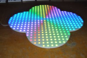 Stage Disco 60*60cm Weedding Party Portable LED Dance Floor pictures & photos