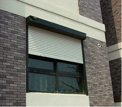 Aluminium Roller Shutter (45mm slats) pictures & photos