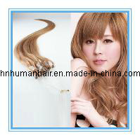 "20""Micro Loop Human Hair Extensions (#01 Jet Black, 0.5g/Strand 100s/Pack)"