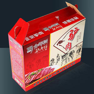 Portable Corrugated Packaging Cartons