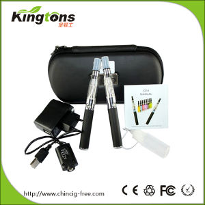 High Quality Electronic Cigarette CE4 Vaporizer, EGO CE4 Starter Kits Double Kit with Zipper Box Packing pictures & photos