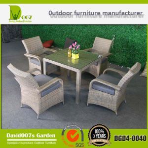 PE Rattan Modern Furniture Wicker Table Set pictures & photos