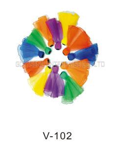 Nylon Toy, Sports Ribbon Ball Toy, Teaching Aid, Ribbons Ball (Z006/V-102)