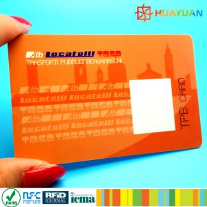 13.56MHz ISO14443B HF Contactless RFID SRIX4K Smart Card pictures & photos