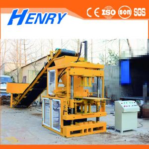 Hr2-10 Full Automatic Siemens Motor Paver Machine Clay Brick Making Machine in India pictures & photos