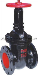 Non-Rising Stem Wedged Gate Valve pictures & photos