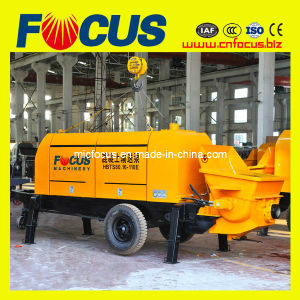 60m3-80m3/H Diesel Trailer Concrete Pump Machine/ Concrete Pumping Machinery-Stationary with Trailing pictures & photos