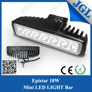 18W Mini LED Offroad Light Bar for Truck/SUV/ATV pictures & photos