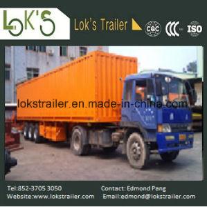 40 Feet 3 Axles Cargo High Walled Trailer pictures & photos