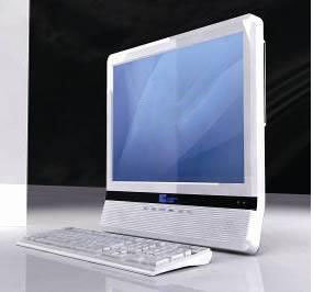 17 Inch All in One PC With Touch Screen (GL-PP17CW)