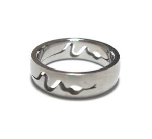Fashion Stainless Steel Carving Ring---SGR705031