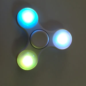 LED Plastic Hand Spinner for Stress Relieve