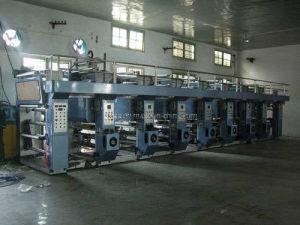 7 Motor 8 Color Rotogravure Printing Machine