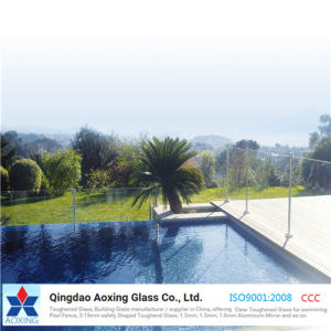 High Quality Toughened Glass for Swimming Pool Fence pictures & photos